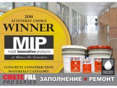 Крит Филл для заполнения швов в бетоне и ремонта