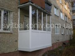 Рами балконні алюмінієві
