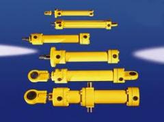 Cylinders are hydraulic