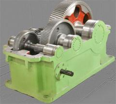 Reducers cylindrical horizontal one-stage and