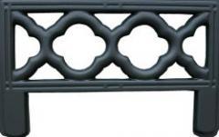 Форма из АБС пластика для производства оградок. Форма № 11