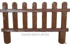 Форма из АБС пластика для производства оградок. Форма № 12