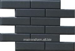 Формы для изготовления фасадной плитки. Фасад №17 Кирпич гладкий пазловой
