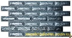 Формы для изготовления фасадной плитки. Фасад №22 Кирпич фагот пазловой
