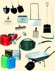 Garden and garden stock, Sprayers and accessories,