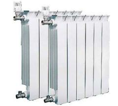 Radiators aluminum, steel, pig-iron