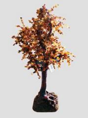 Деревья из камней янтаря: изготовление и...