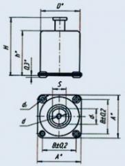Амортизатор АФД-8