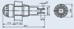Арматура сигнальная АС-1201 желтая