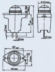 Арматура сигнальная МФС-1б белый