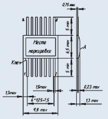 Блок резисторов Б19К-1-1 2.7К