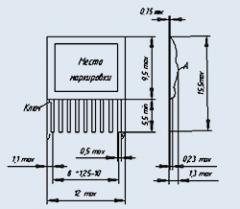 Блок резисторов Б19К-2 2.2К