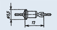 Dioda pojemnościowa dioda D 901 i