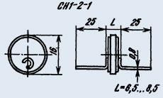 Varistor SN v 1-2-1 180