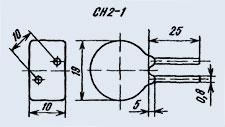 Варистор СН2-1А 680В
