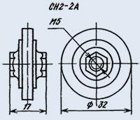 Varistor SN 2-2 a 1000 v
