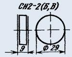 Варистор СН2-2В 620В