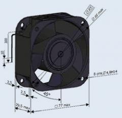Вентилятор 0.71ЭВ-0.4-1-1270