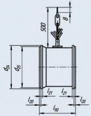 Вентилятор 0.8ЭВ-2.8-120-3661
