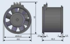 Вентилятор ЭВ-0.5-1640