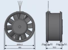 Вентилятор ЭВ-2.8-3660