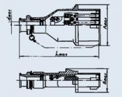 Вилка СШК8-4х60-2В-В