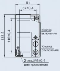 Выключатель АП50Б-3МТ 16А