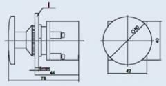 Выключатель кнопочный КЕ-021 исп.1 черн.