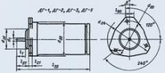 Двигатель-генератор ДГ-2ТА