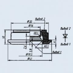 Диод быстровосстанавливающийся В7-200-3