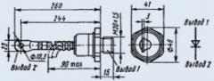 Диод быстровосстанавливающийся ВЧ2-160-6