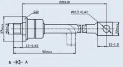 Диод быстровосстанавливающийся ДЧ161-160Х-12