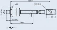 Диод быстровосстанавливающийся ДЧ251-160Х-14