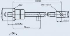 Диод быстровосстанавливающийся ДЧ251-200-14