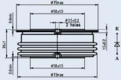 Диод быстровосстанавливающийся ДЧ253-1000-20