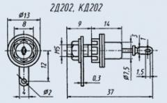 Диод выпрямительный 2Д202Д