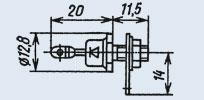 Диод выпрямительный 2Д203А-1