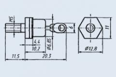 Диод выпрямительный 2Д2998А