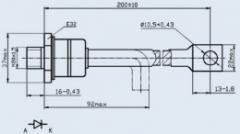 Диод лавинный 2ДЛ161-200-8