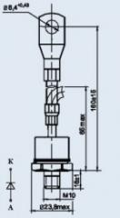 Диод низкочастотный Д141-100-12