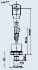 Диод низкочастотный Д141-100Х-4