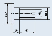 Microwave oven 2A608A diode