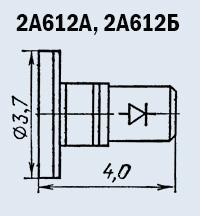 Microwave oven 2A612A diode