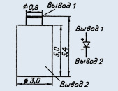 Microwave oven 2A717A-4 diode