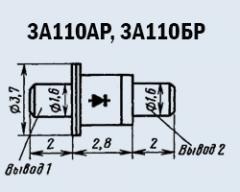 Microwave oven 3A110AP diode