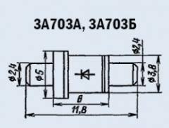 Microwave oven 3A703A diode