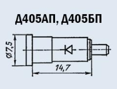 D405AP microwave oven diode