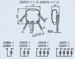 Диодная матрица 2Д901Б-1