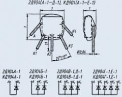 Диодная матрица 2Д904А-1
