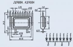 Диодная матрица 2Д908А